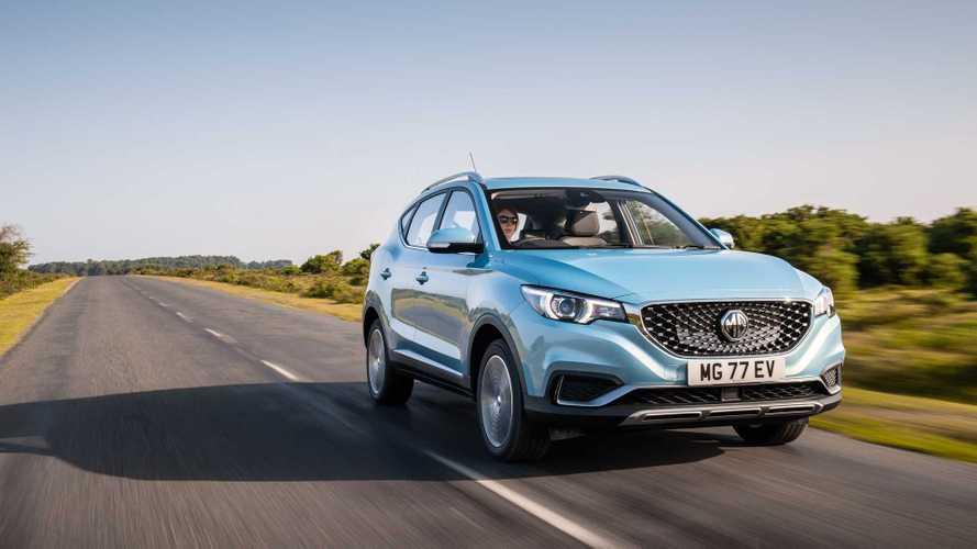MG dévoile les tarifs français du ZS EV