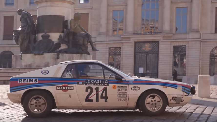 Video: Martini Racing's 1977 Lancia Beta Montecarlo