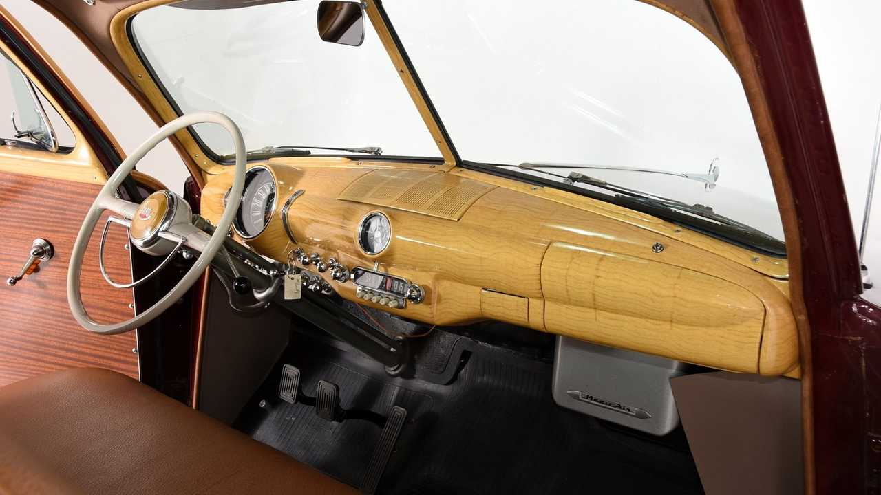 1949 Ford Country Squire With Total Frame Off Restoration