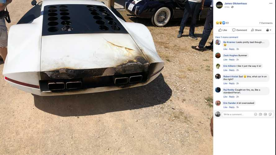 Ferrari 512S Modulo Concept Caught Fire From Bad Exhaust