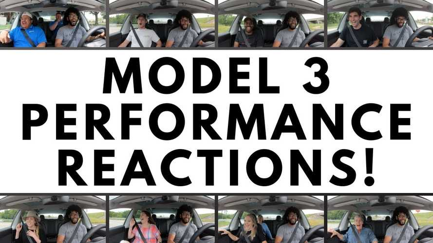 Tesla Model 3 Performance Reactions Are Priceless: Video