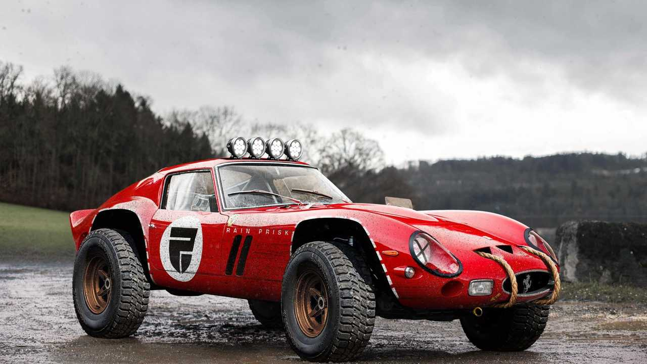 Ferrari 250 GTO with off-road package