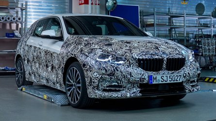 2020 BMW 1 Series starts to peel off camo in new teaser