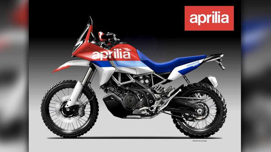 It Might Be Just A Render, But This Aprilia Tuareg 900 Makes Us Dream