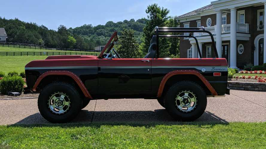 Customized 1970 Ford Bronco Selling At No Reserve