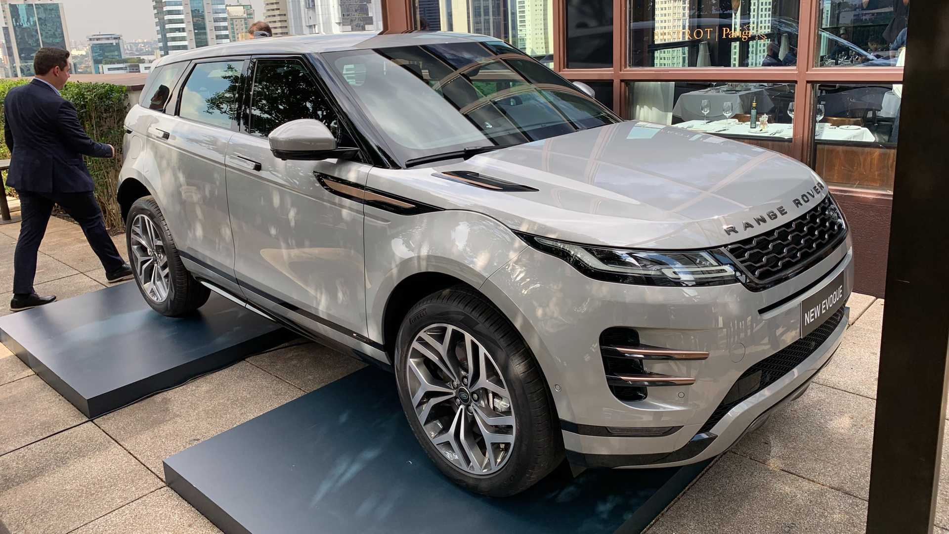 Novo Range Rover Evoque E Lancado No Brasil Veja Precos