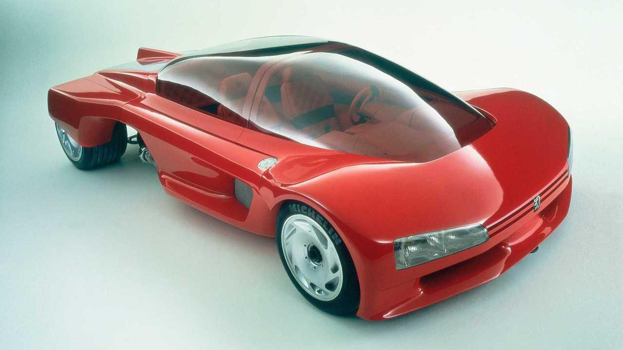 Концепция Peugeot Proxima