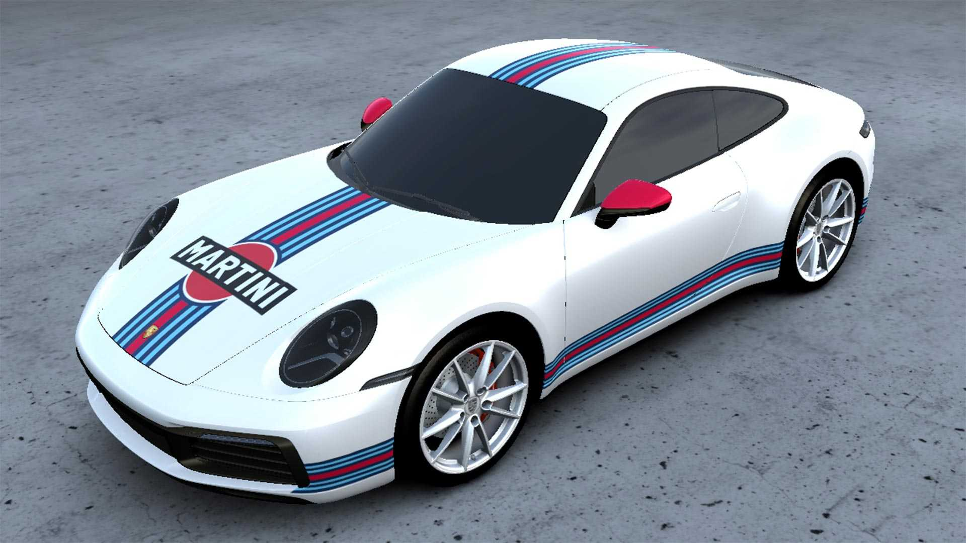 new porsche service lets you wrap your car in martini racing livery wrap your car in martini racing livery