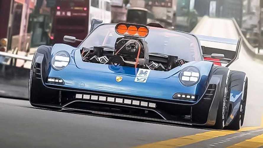 Porsche 911, in Francia c'è quella con motore V8 Hemi