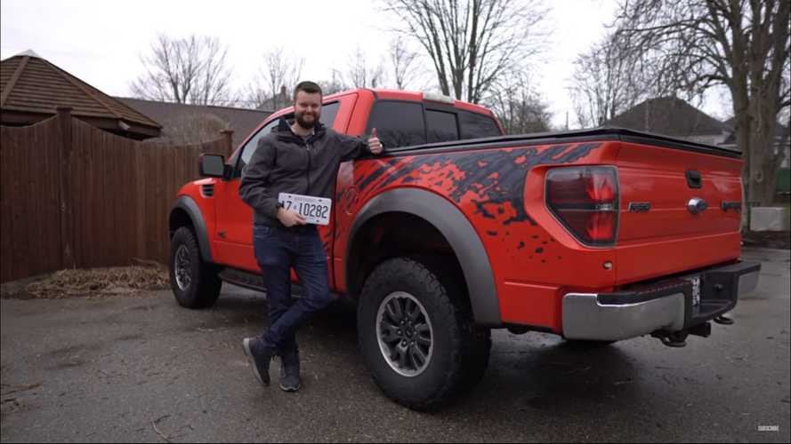 This First-Gen Ford Raptor With 6.2L V8 Was Sold For Under $14K