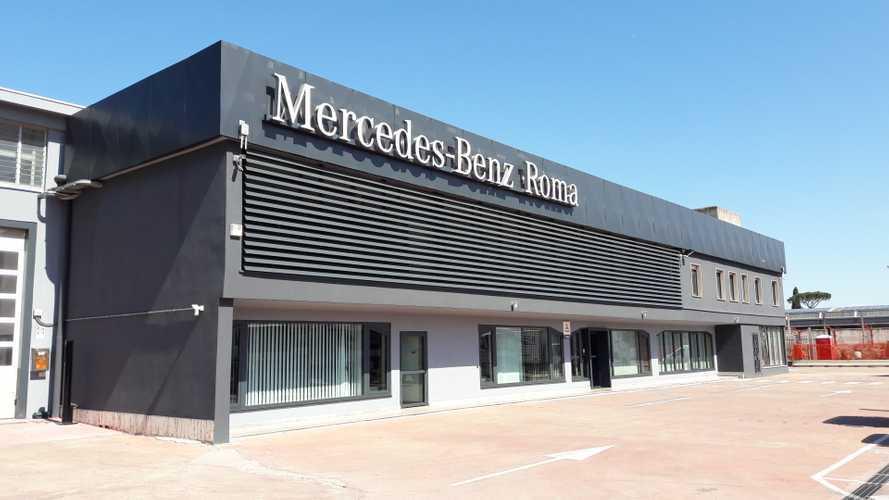 Mercedes-Benz Trucks e Vans inaugura la nuova sede di Roma