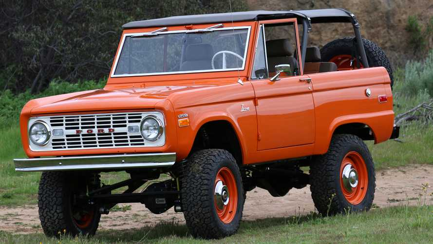 Icon Ford Bronco Old School: First Drive