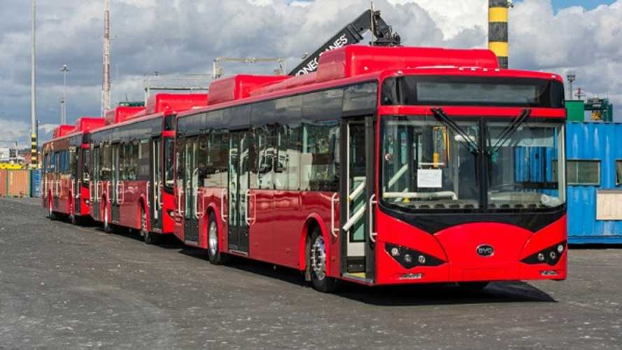 BYD Delivers Argentina's First Electric Bus Fleet