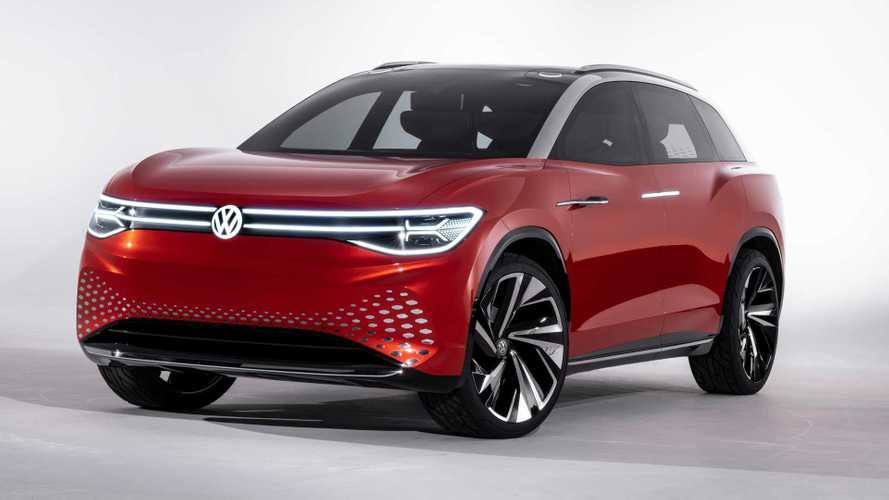 VW Reveals I.D. Roomzz Electric SUV With 280-Mile Range