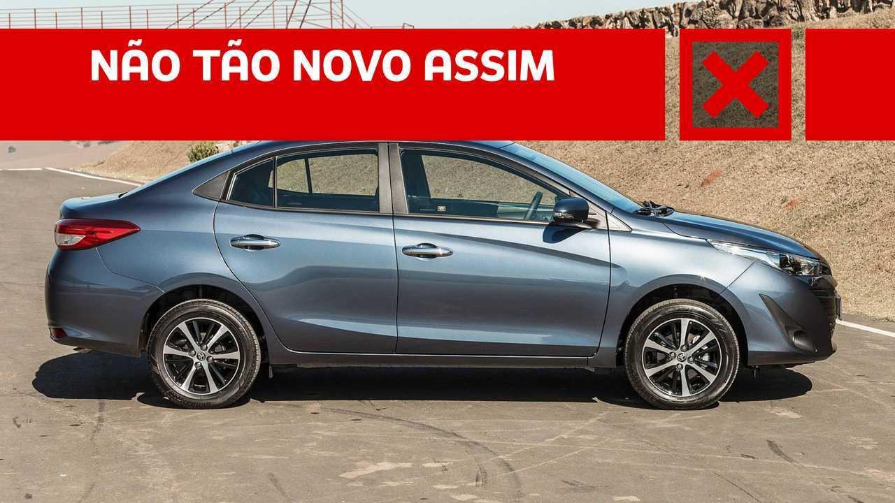Pros E Contras Toyota Yaris Sedan Xs 1 5 Cvt