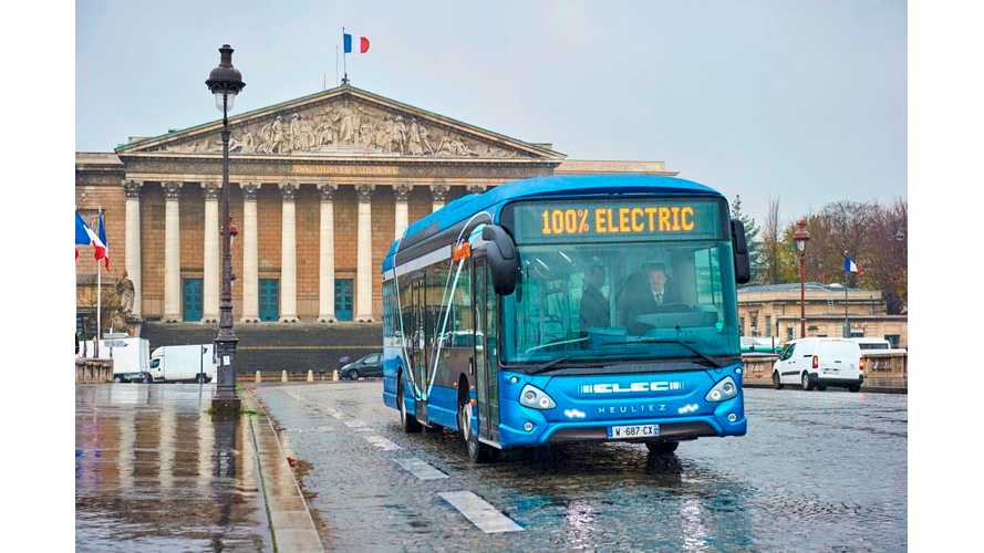 Paris Transport Operator RATP Orders Up To 800 Electric Buses