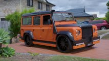 Land Rover Defender façon Hot Wheels