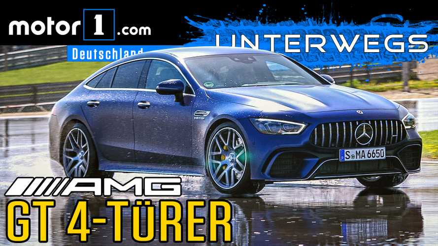 Video: Mercedes-AMG GT 63 S 4-Türer (2019) im Test