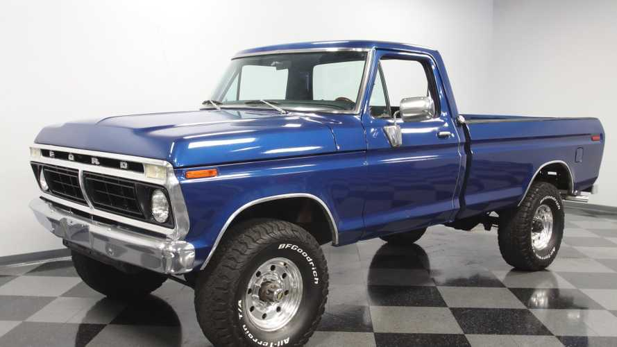You Can Own This 1976 Ford F-250 Highboy 4x4 Truck