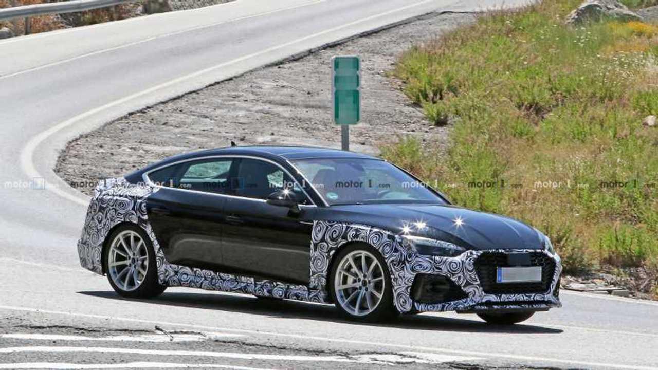 Photo d'espionnage de l'Audi RS5 Sportback 2020