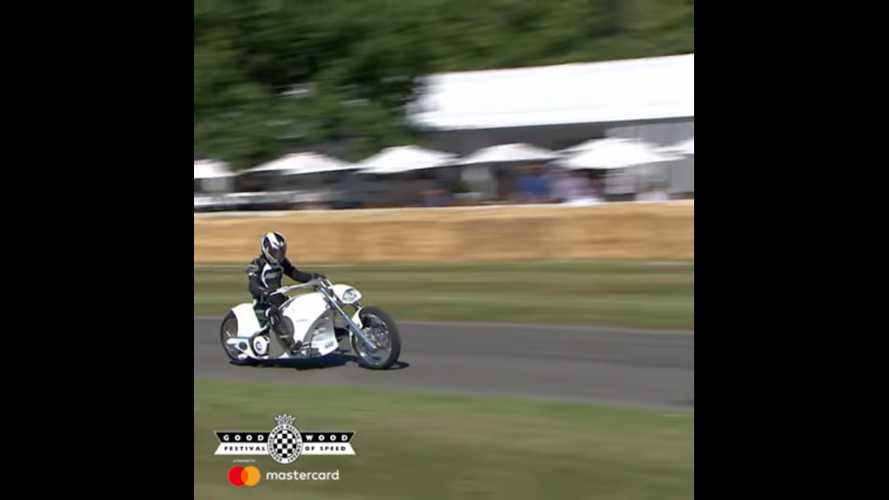 Siemens Smart Chopper Surprised Goodwood Festival Of Speed