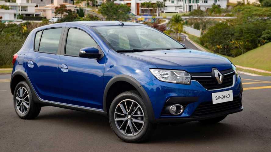 Renault Sandero e Logan com câmbio CVT deixam de ser oferecidos
