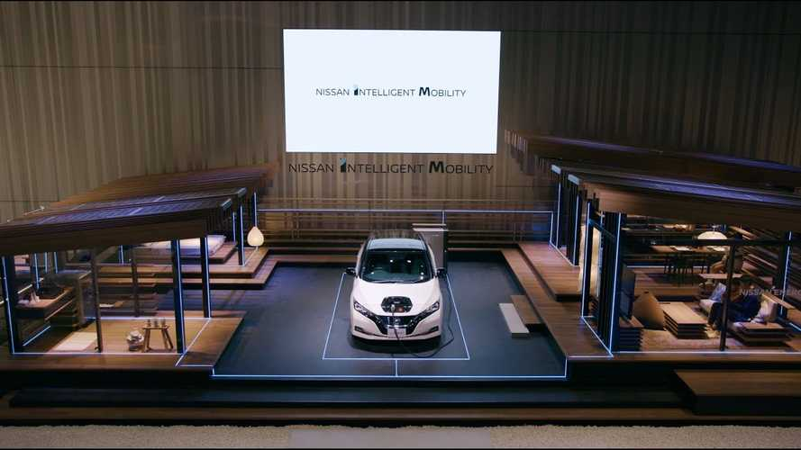 Nissan Teases Vehicle-To-Home Capability, Criticizes Tesla