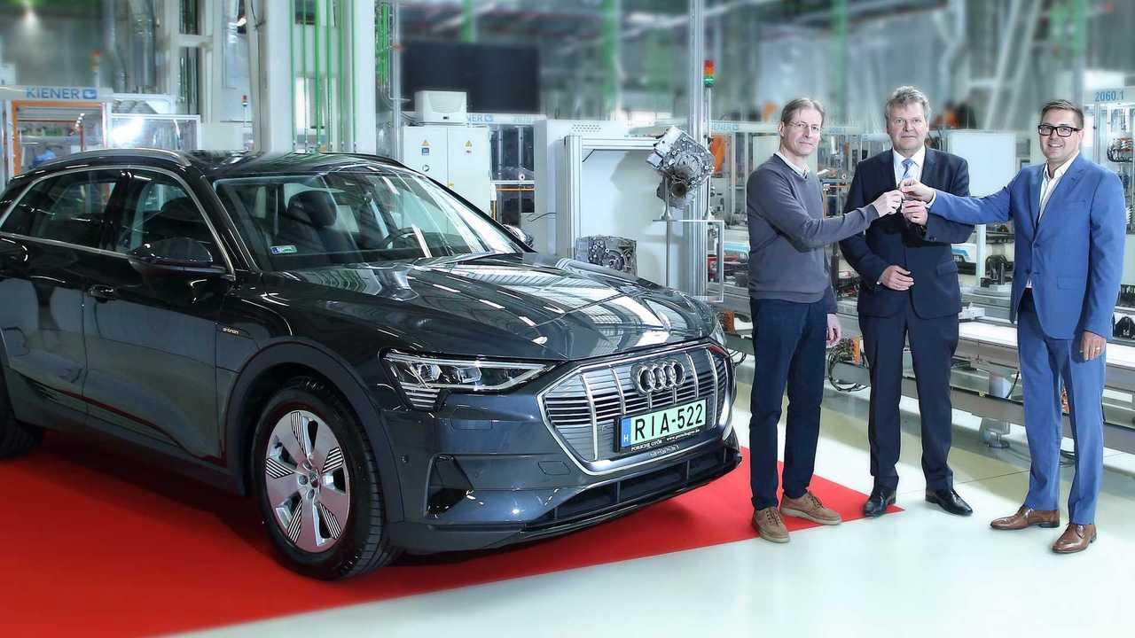 Audi e-tron átadás