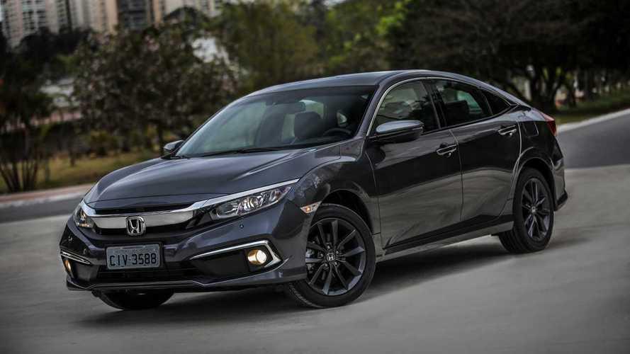 Honda Civic 2021 fica mais caro novamente e parte de R$ 112.700