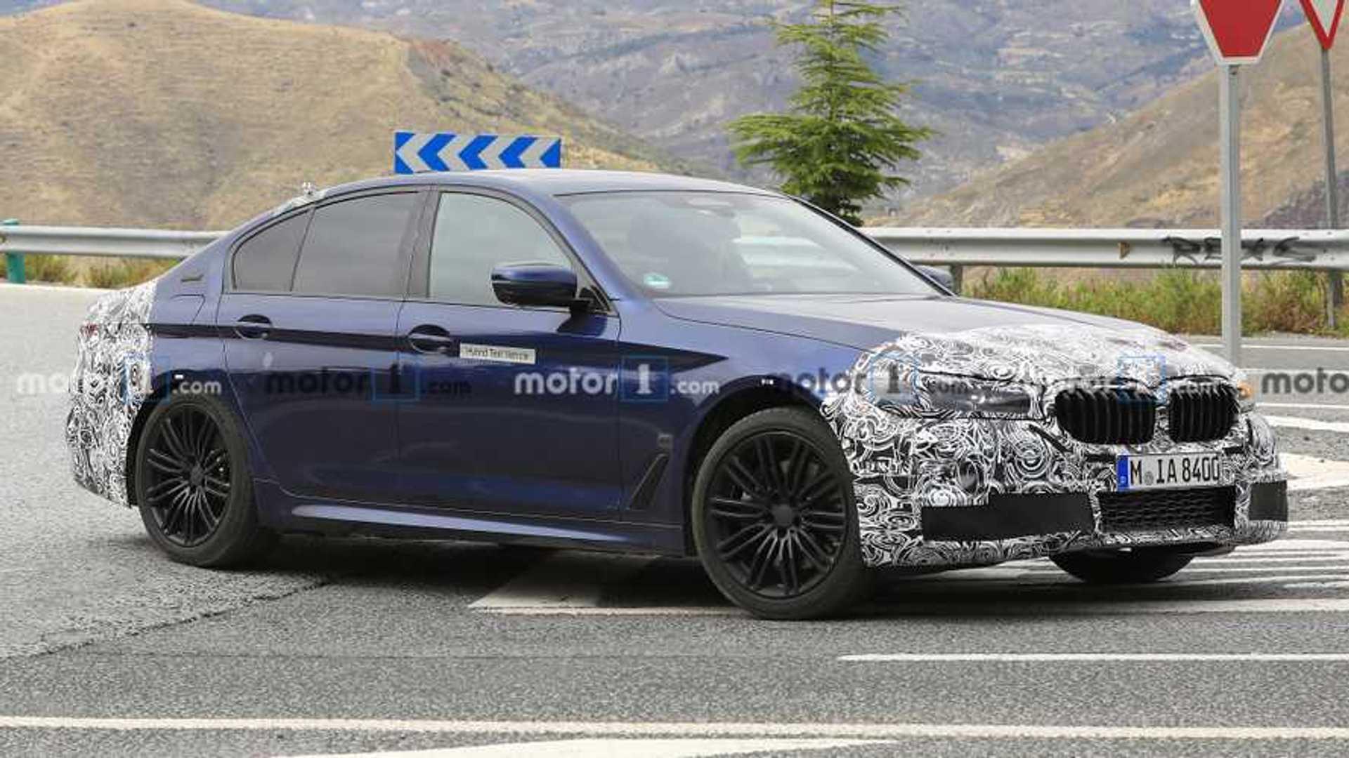 2020 - [BMW] Série 5 restylée [G30] - Page 2 2021-bmw-5-series