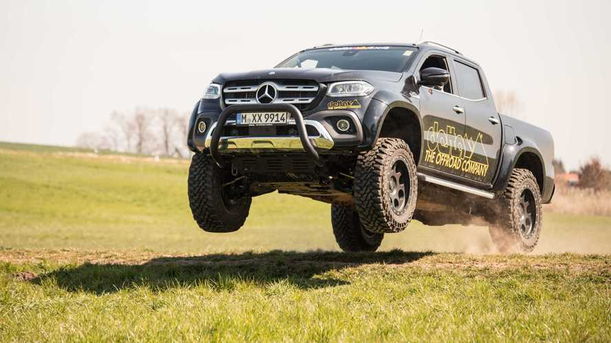 Mercedes-Benz Clase X by delta4x4, que tiemble el Ford Ranger Raptor
