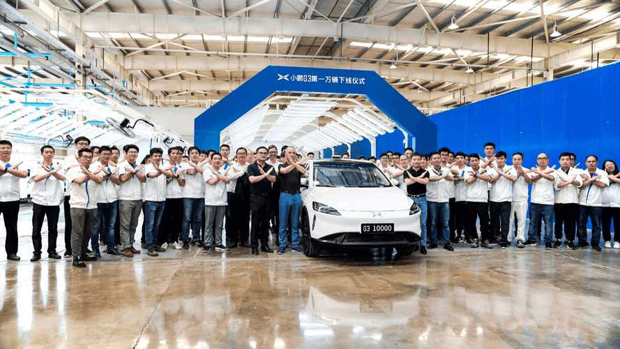 Xpeng Motors Produced First 10,000 Electric Cars