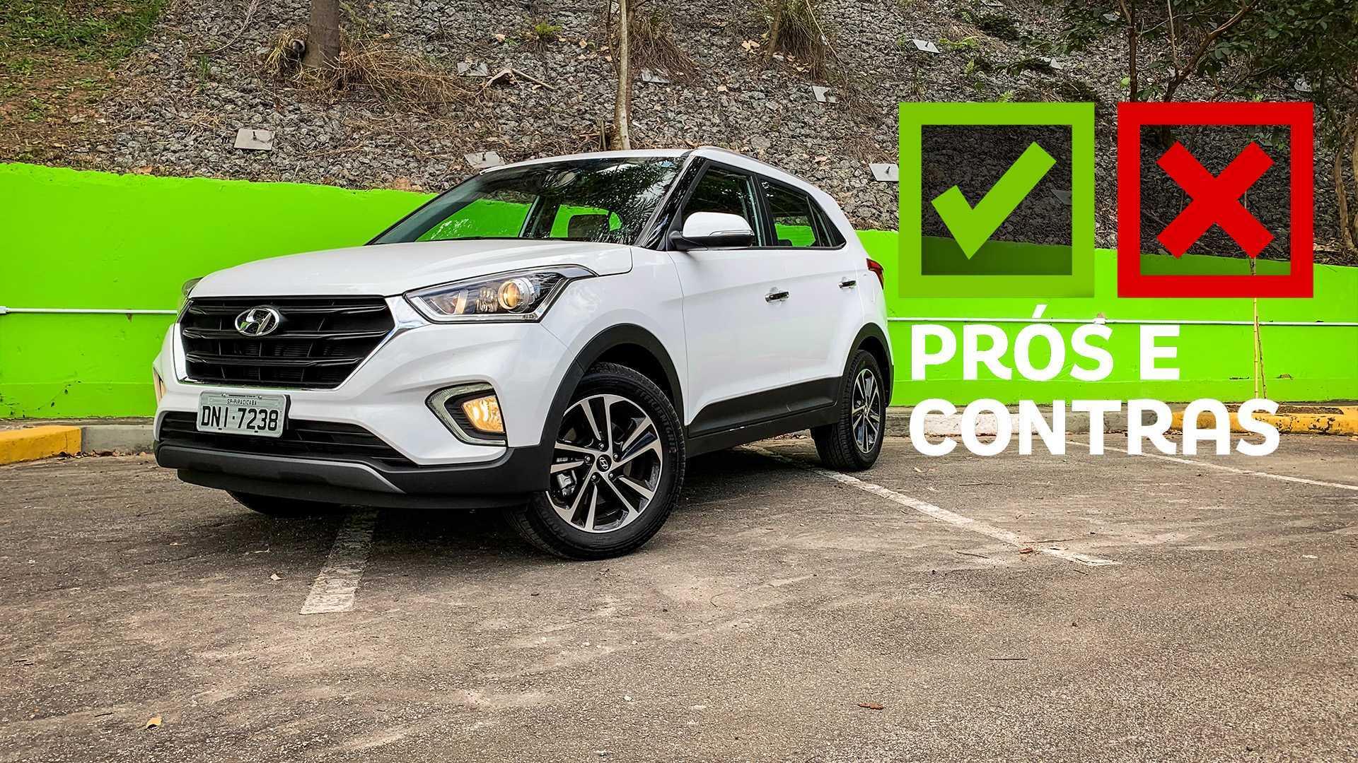 Prós e contras: Hyundai Creta Prestige 2020