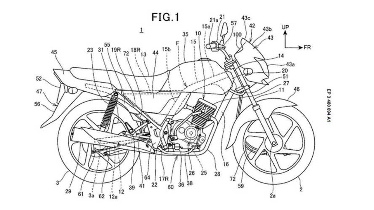Honda patent drum brakes