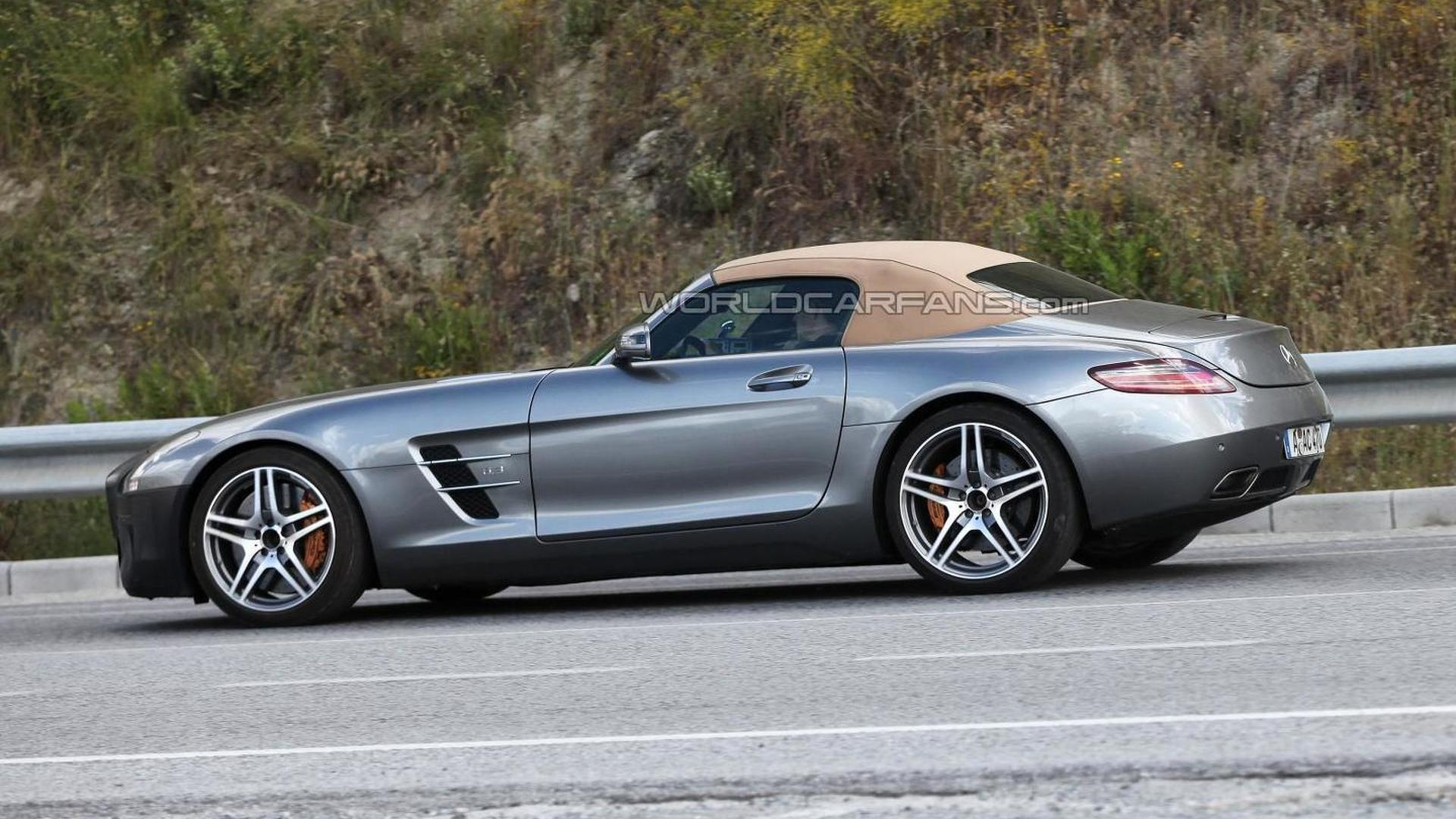 2015 Mercedes Benz Sls Amg Gt Roadster Spy Photo 19 05 2013 862754