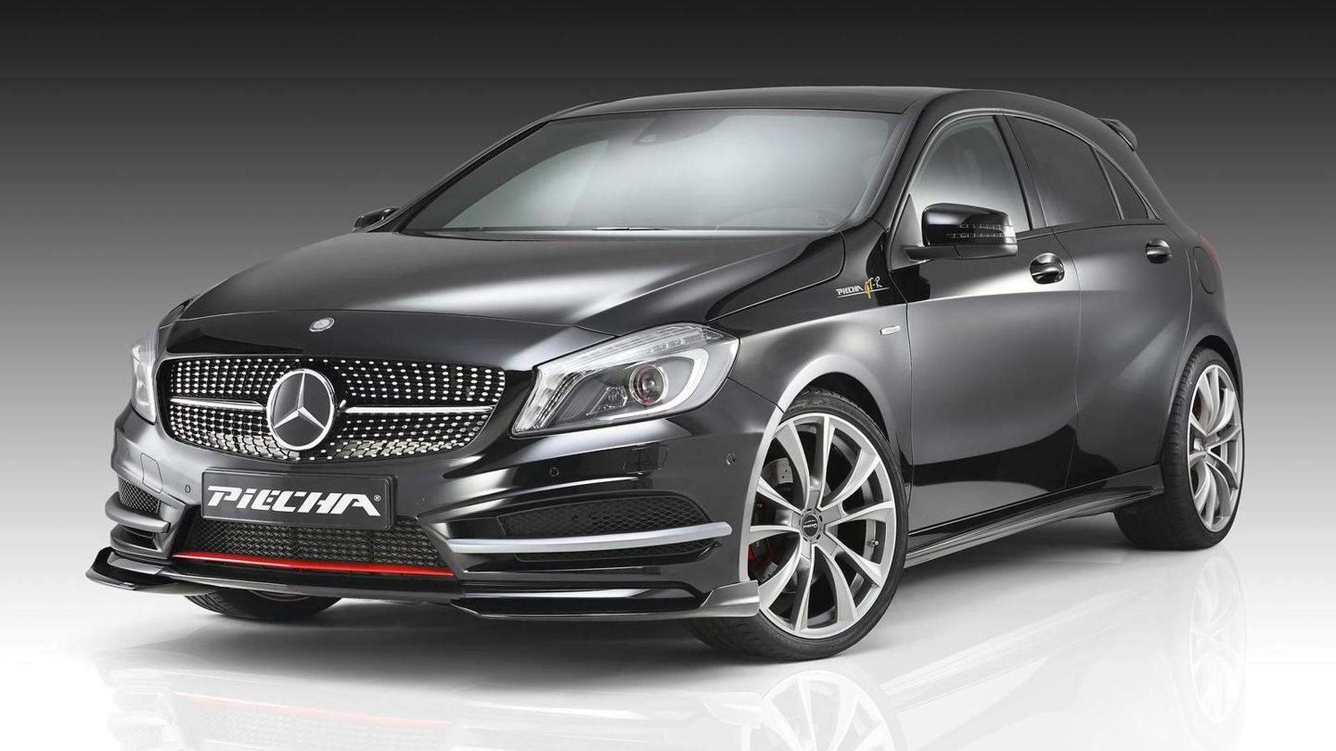 Mercedes Benz A Class Amg Line Customized By Piecha Design