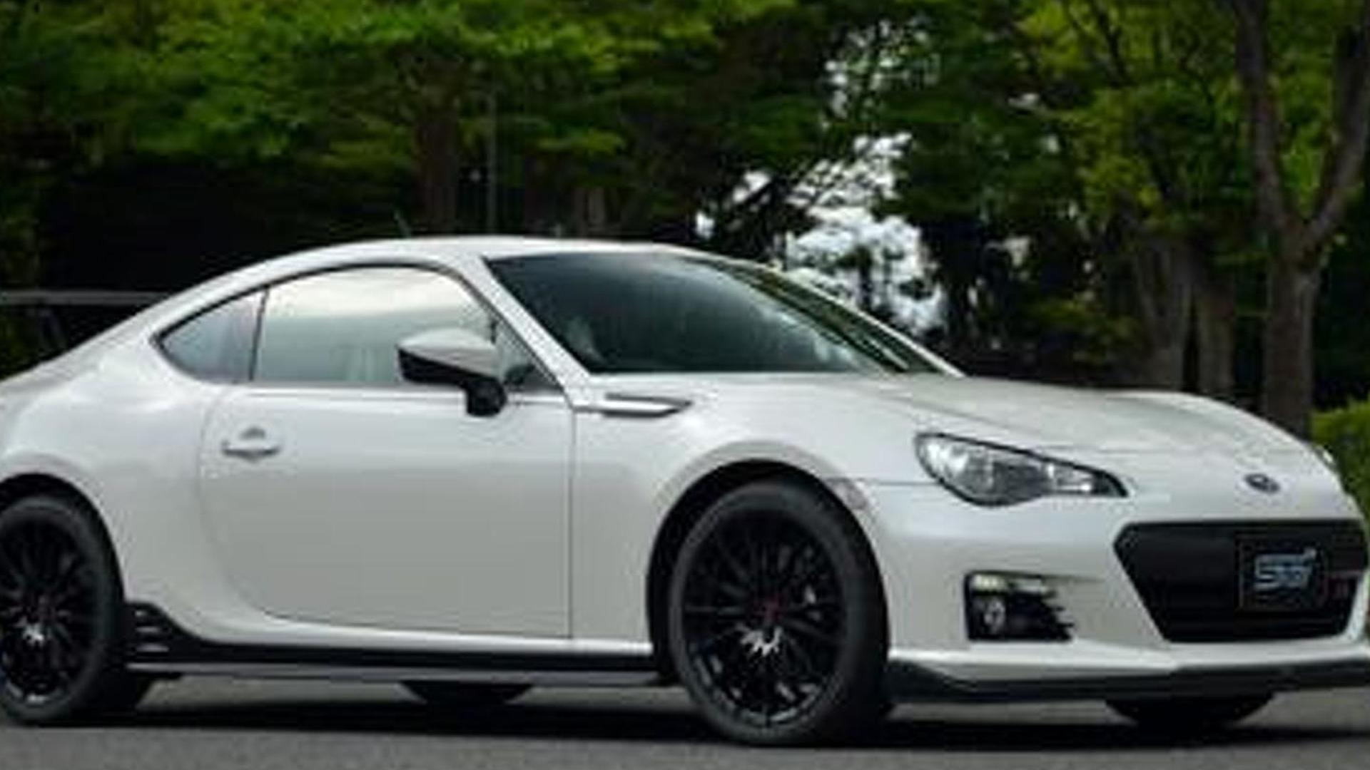 Subaru BRZ STI is likely just the BRZ ts concept   Motor1 ...
