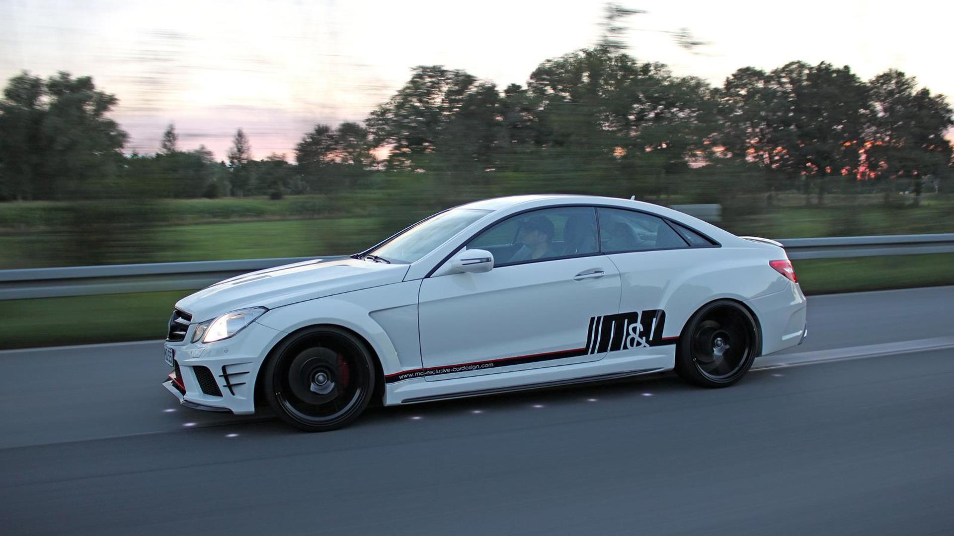 2009 Mercedes Benz E500 Coupe Tuned By M D Exclusive Cardesign