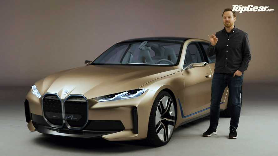 BMW Concept i4 Video Preview Goes In-Depth