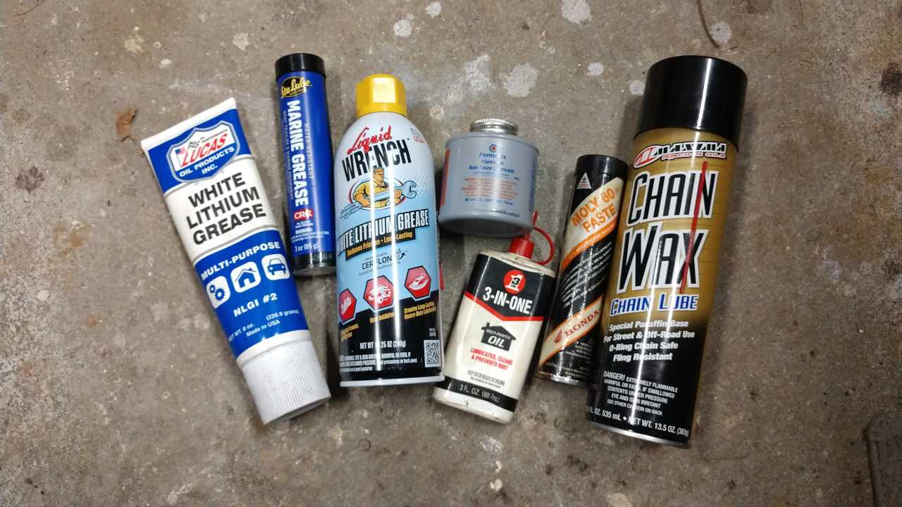 Greases And Lubes