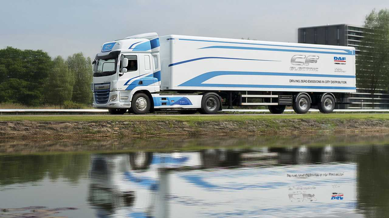 DAF CF Electric 150mila km