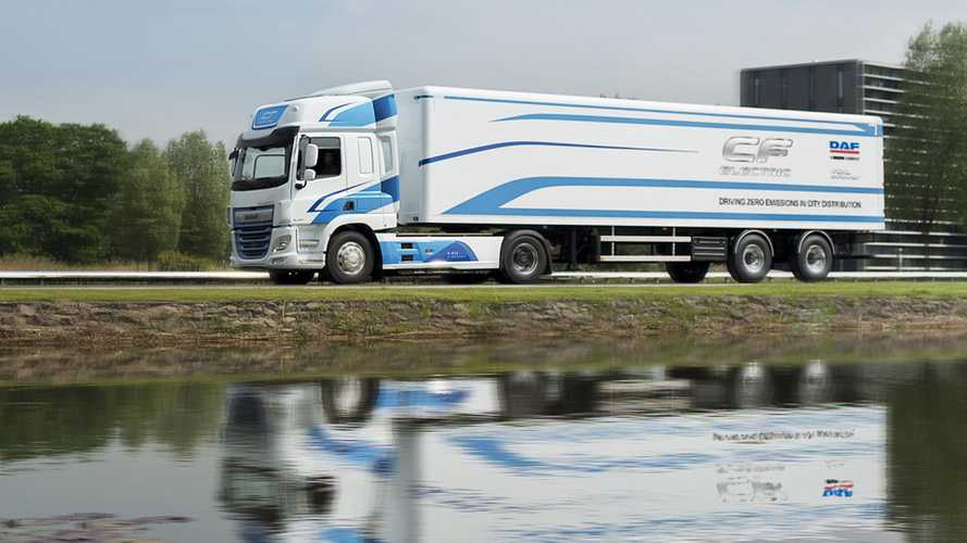 DAF CF Electric, percorsi i primi 150mila chilometri