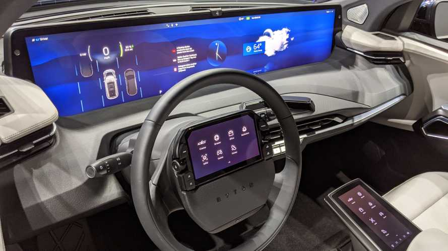 BYTON Puts Digital Experience Ahead Of Driving At CES