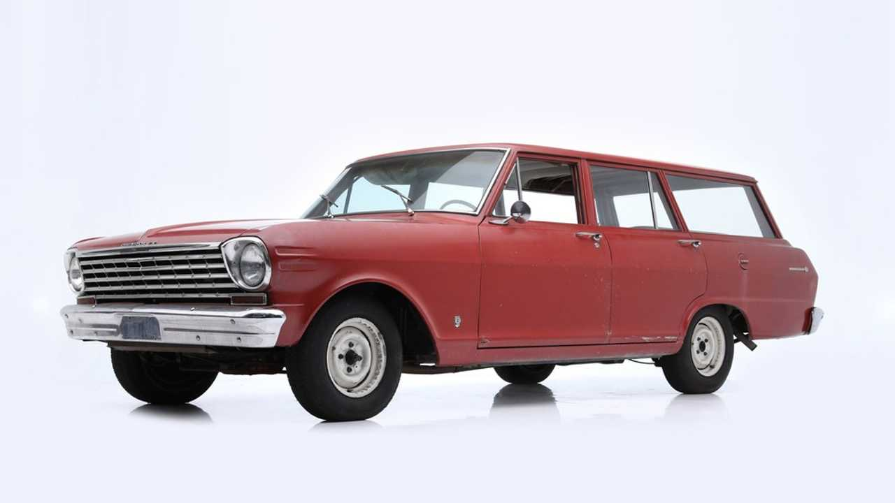 Chevrolet Nova Wagon (1963) - Adjugée à 18'700 dollars