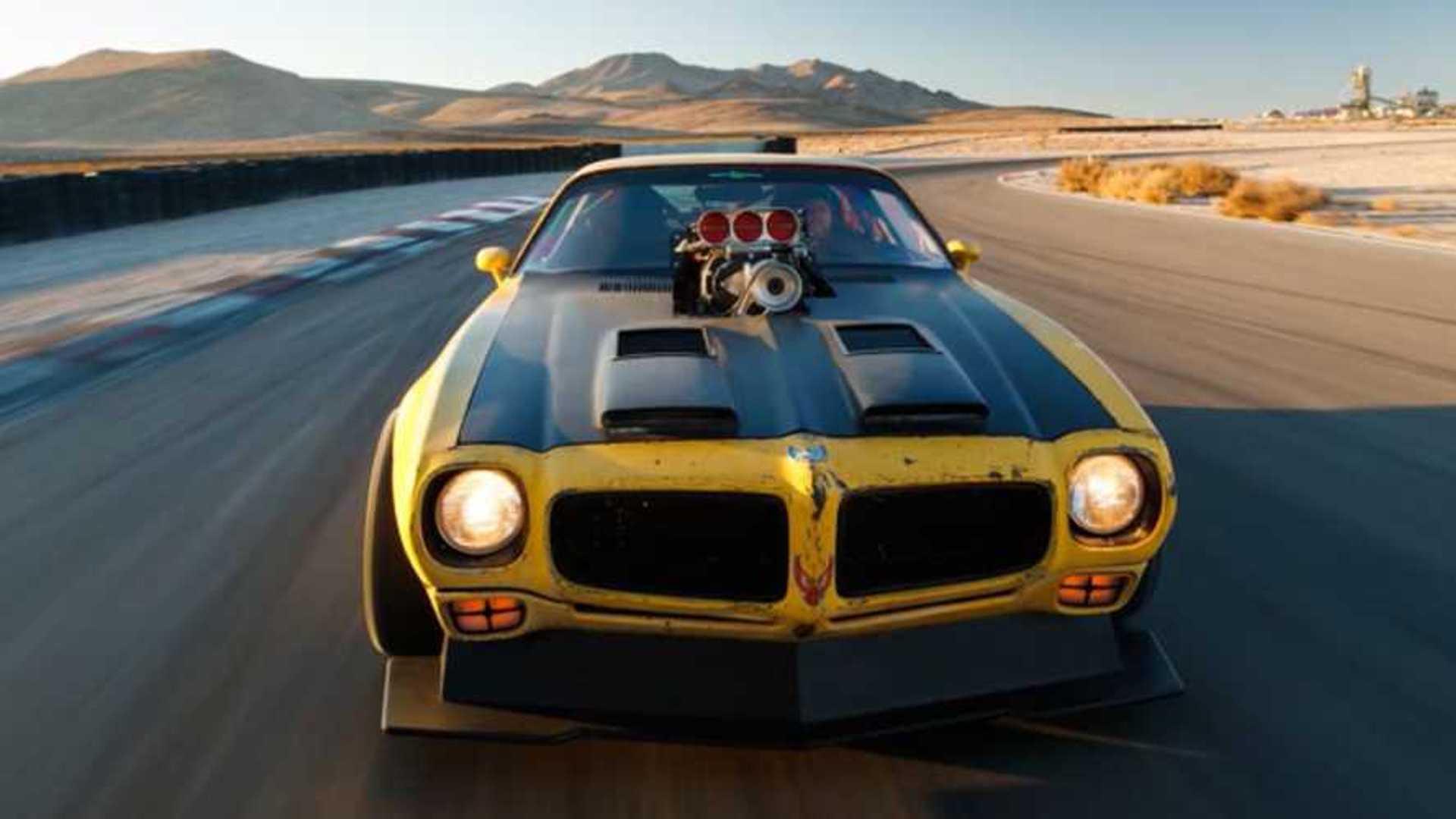This 1971 Pontiac Trans Am Has All-Wheel Drive