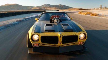 This 1971 pontiac trans am has all wheel drive