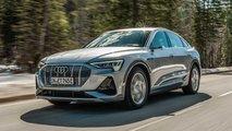 Audi e-tron Sportback, la prima prova su strada
