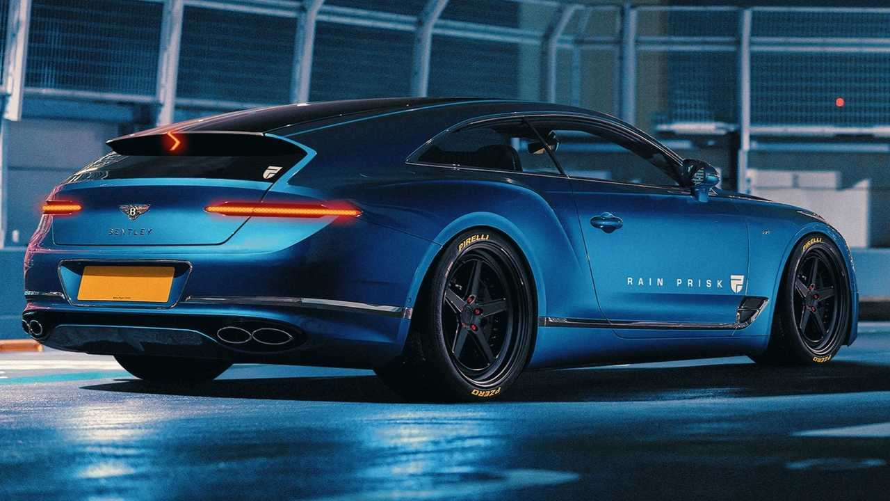 Bentley Continental GT Shooting Brake Rendering