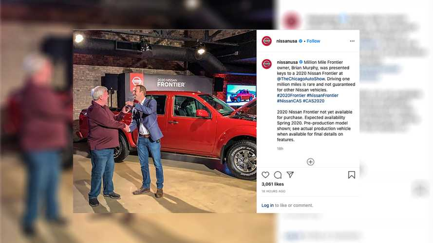 Million-Mile Frontier Owner Gets A Free New Truck From Nissan