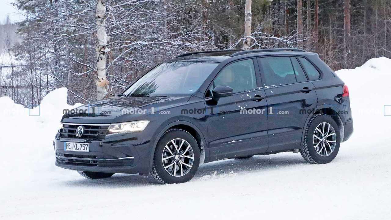 2021 VW Tiguan facelift spy photo - 4761797